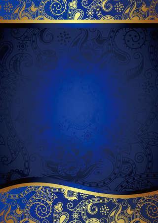 Fondo azul abstracto Foto de archivo - 12917610