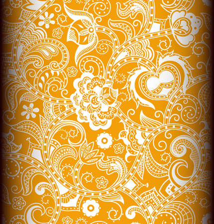 Seamless Floral Pattern 2 Stock Vector - 13027951