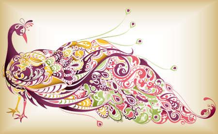 pluma de pavo real: Resumen del pavo real