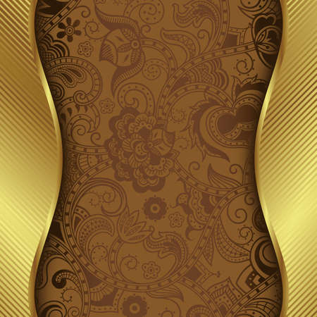 background brown: Abstract Coffee Background Illustration