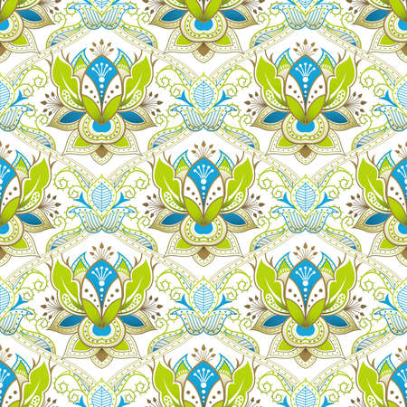 Seamless Floral Pattern 1 Vector