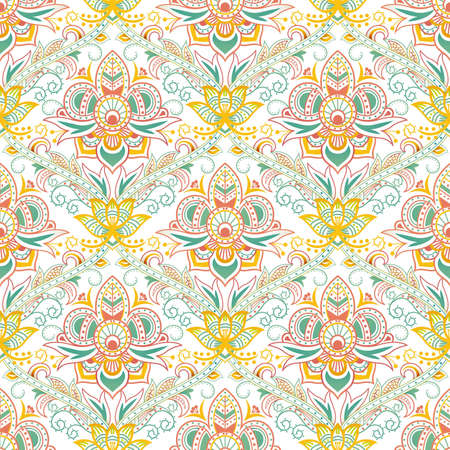 Seamless Floral Pattern 2 Illustration