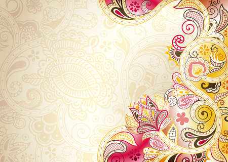 background swirl: Abstract Floral Background
