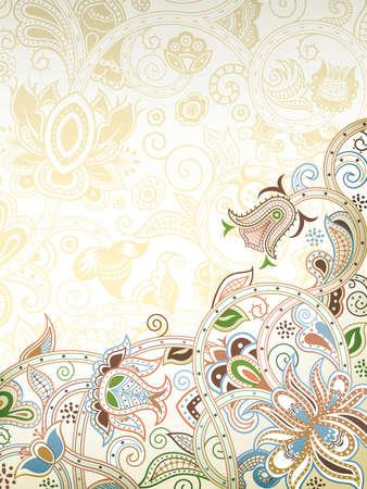 blumen abstrakt: Floral Abstract Background