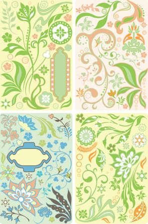 blumen abstrakt: Floral Abstract