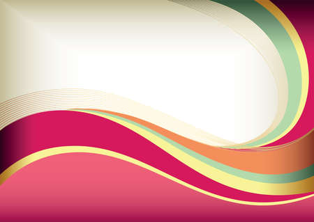 pink swirl: Abstract Curve Background
