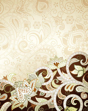 choco: Abstract Floral Background
