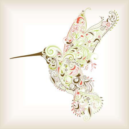 Résumé Hummingbird Vecteurs