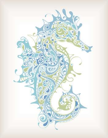 seahorse: Abstract Seahorse