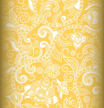 floral vectors: Abstract Floral Pattern