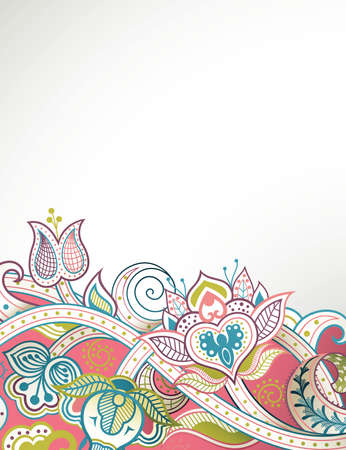 abstract floral: Abstract Floral Background