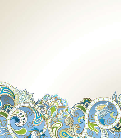 vector illustration: Abstract Floral Background