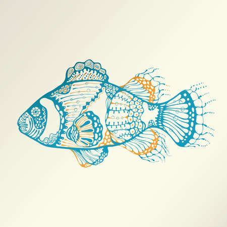 sealife: Abstract Tropical Fish
