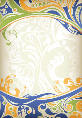 curve: Abstract Curve Background