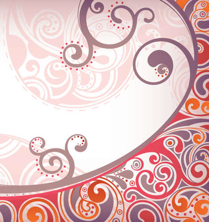 abstract swirls: Abstract Curve Background