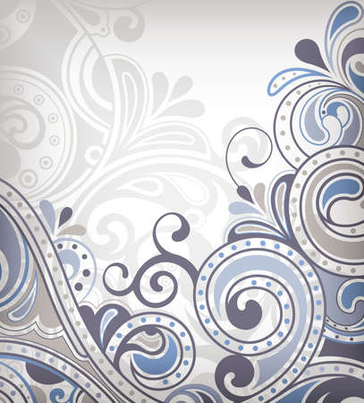 grey backgrounds: Abstract Curve Background