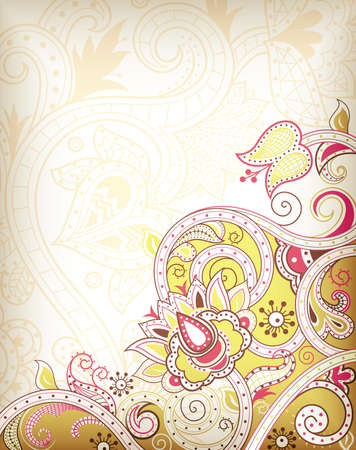 floral: Abstract Floral Background