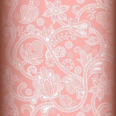 seamless pattern: Seamless Floral Pattern Illustration