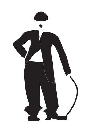 charlie: The vector illustration - Charles Chaplin