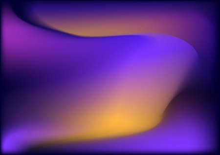 power projection: Purple yellow orange flowing abstract background