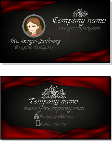 business cloth: business card
