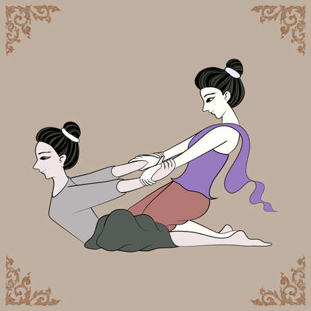 thai women: Thai massage