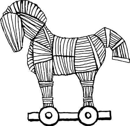 legendary: Trojan horse