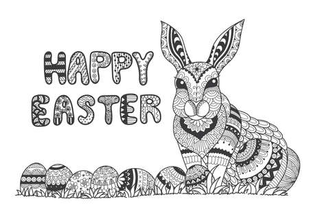 book pages: Easter Illustration