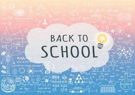 Volver a la escuela para el fondo