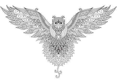 Beautiful falcon 일러스트