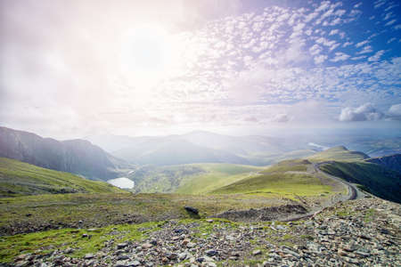 Snowdonia national park, Wales, United Kingdom in July 2018