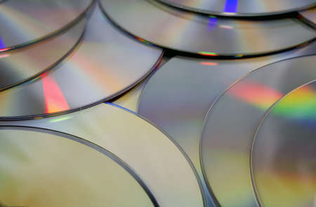 Compact Disc Texture. DVD and CD background.