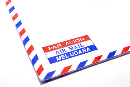 mel: An envelope Par Avion, Air Mail, Mel Udara, Stock Photo