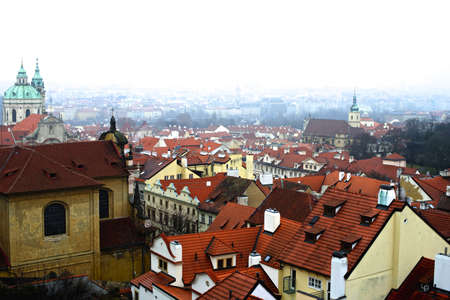 czech culture: Cityscape of old Prague, Czech Republic, Europe