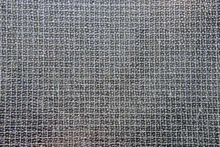 Closeup of metal mesh as background