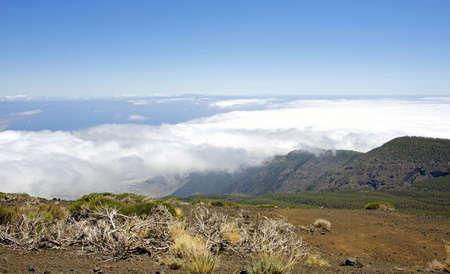 Above the clouds in national park el teide,tenerife~spain