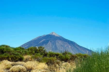 Teide volcano from far, Tenerife