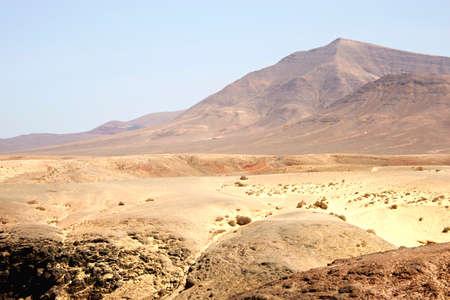 The desert region, Lanzarote, Canary Island