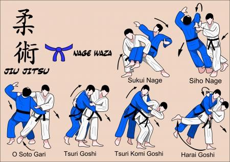 Jiu Jitsu niebieski pas