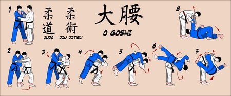 Martial Art Technique Vector