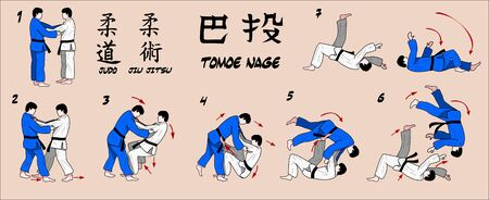 jujitsu: Judo circle throw