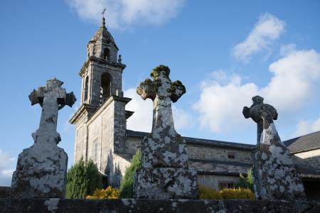 Romański kościół z Galicji, w Hiszpanii
