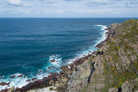 Coastal landscape from Galician coast, spain