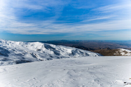 Mountain from Sierra Nevada, Spain photo
