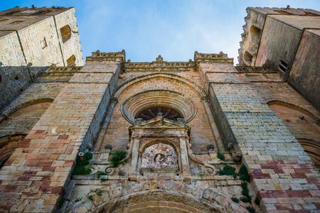 Hiszpania Siguenza Guadalajara katedra. Zdjęcie Seryjne