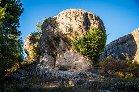 cuenca: Enchanted city of Cuenca. Spain. Stock Photo