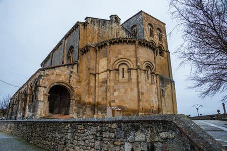 Salvadors church, Sepulveda, Spain.