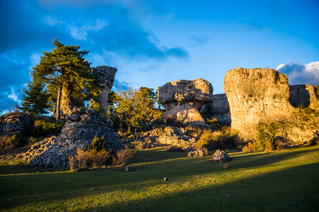 Enchanted Stadt Cuenca. Spanien. Standard-Bild - 48368789