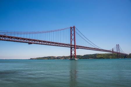 25: 25 April Bridge, Lisbon.