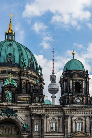 dom: Berlin Cathedral Berliner Dom. Stock Photo